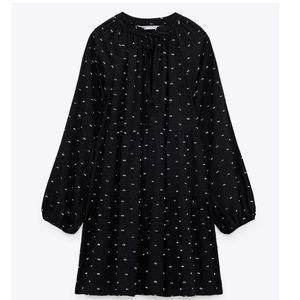 Zara Dotted Mini Dress